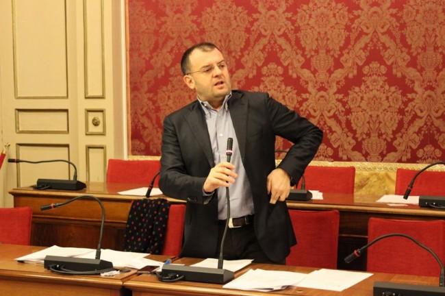 Il consigliere Riccardo Sacchi