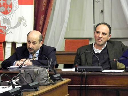 Narciso Ricotta e Luciano Pantanetti