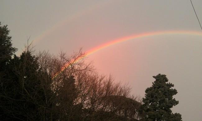 Foto arcobaleno di Claudio Stura