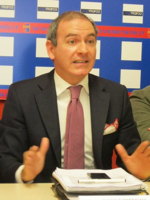 Il Direttore Generale della Civitanovese Giorgio Bresciani
