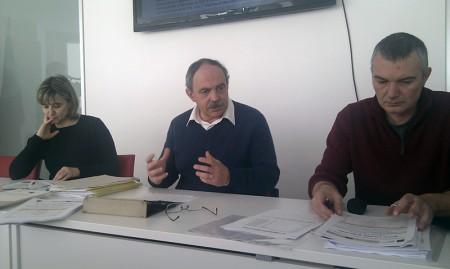 Sonia Paoloni, Aldo Benfatto e Daniel Taddei