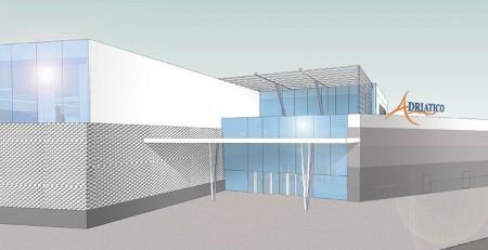 Il rendering del centro commerciale
