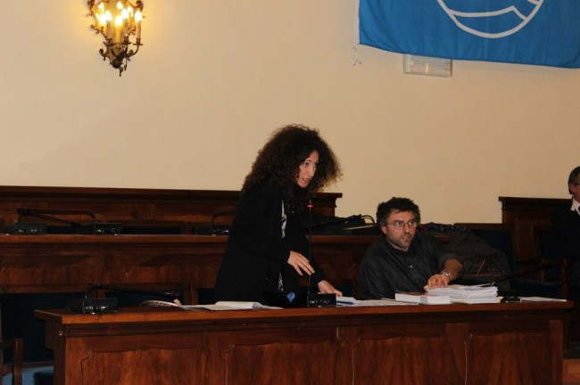 Mirella Emiliozzi e Pier Paolo Pucci (M5S)