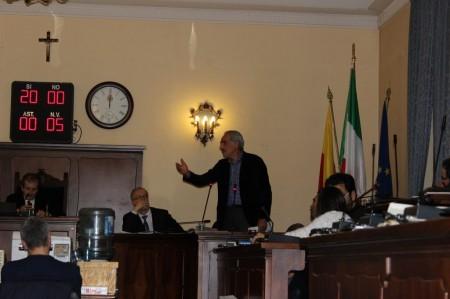 Un intervento del vicesindaco Giulio Silenzi