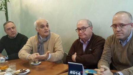 (Da sinistra) i consiglieri Corallini, Mobili, Marzetti e Ciarapica