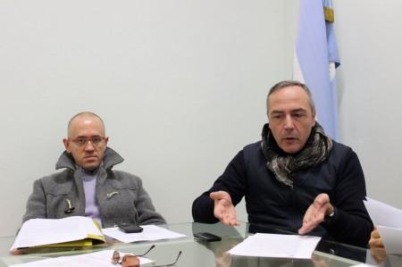 Fabrizio Ciarapica e Giovanni Corallini
