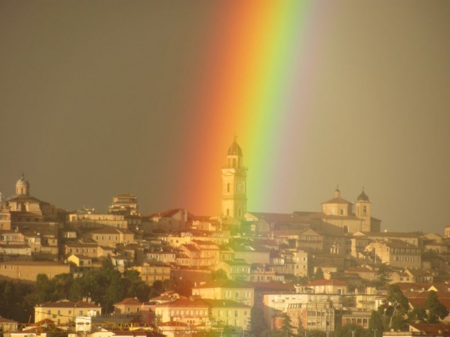foto arcobaleno_Foglia