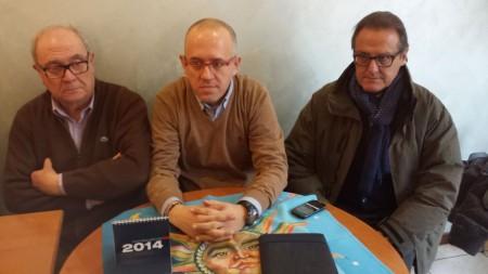 (Da sinistra) i consiglieri Marzetti, Ciarapica e Marinelli