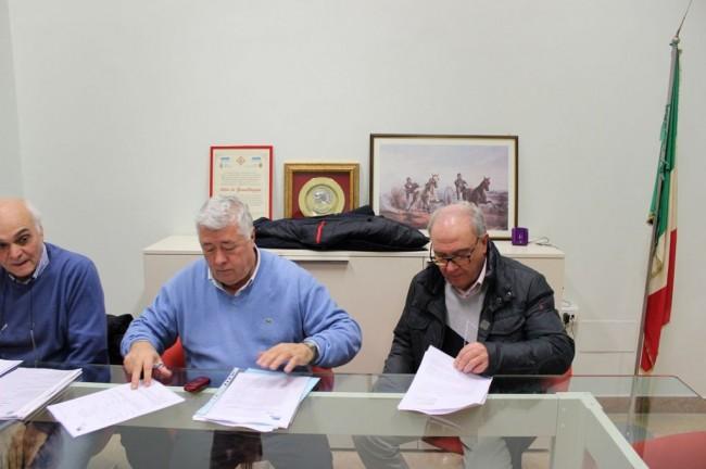 Massimo Mobili, Ottavio Brini e Sergio Marzetti