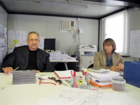 Il presidente della Civita Park l'imprenditore Mauro Mattucci e l'amministratore delegato Giuliano Ginobili