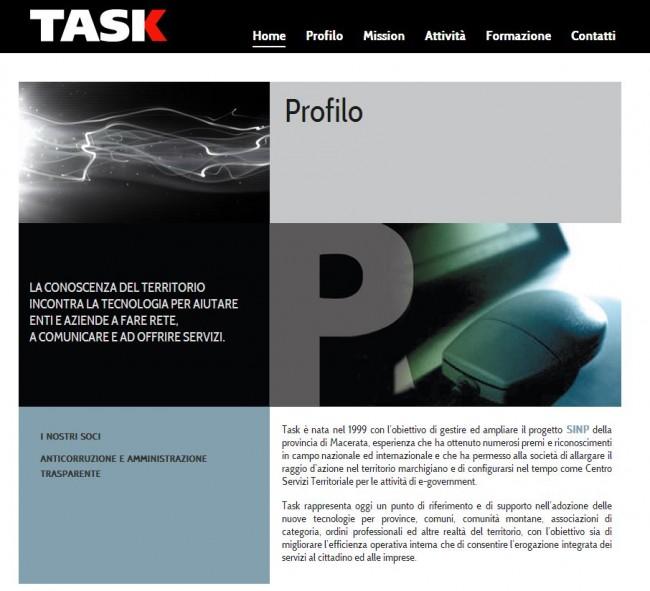Il sito della Task