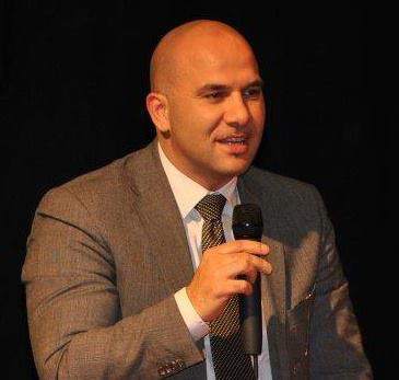 Il sindaco di Offida, Valerio Lucciarini