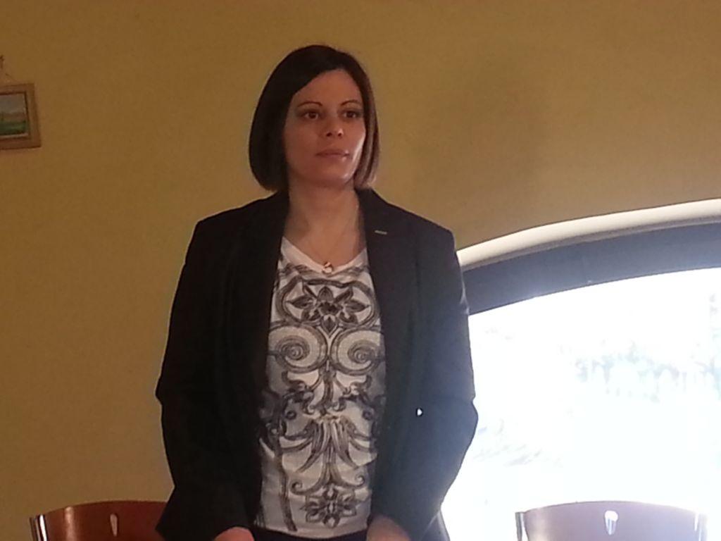 L'onorevole Patrizia Terzoni, segretaria della commissione Ambiente della Camera