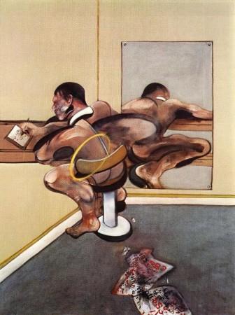 Bacon-Uomo-che-scrive-riflesso-in-uno-specchio-1976-336x450