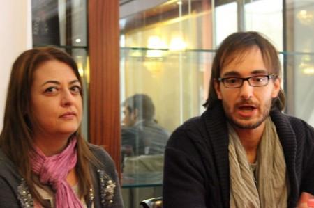 Barbara Arzilli e Marco Guzzini