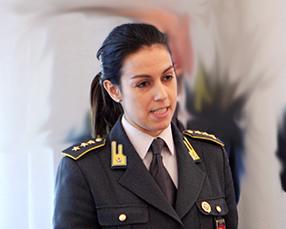 Il capitano Diana Campanella