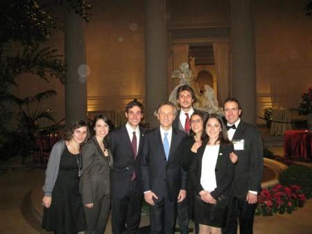 Con l'ambasciatore italiano