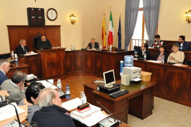 La Giunta regionale nell'aula consiliare di Civitanova