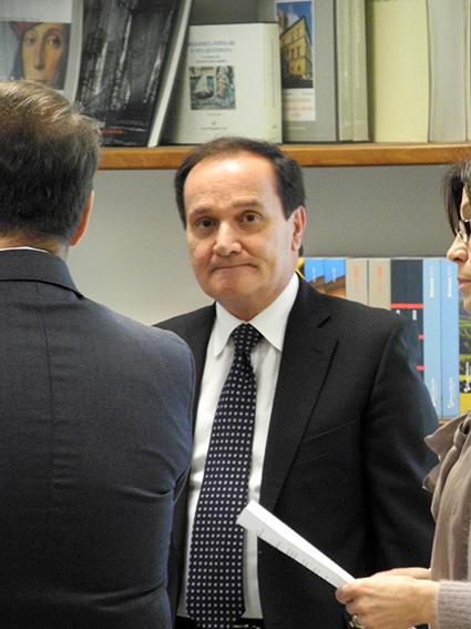 Il dg di Banca Marche, Luciano Goffi