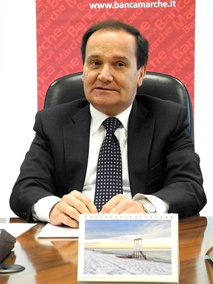 Luciano Goffi, direttore di Banca Marche