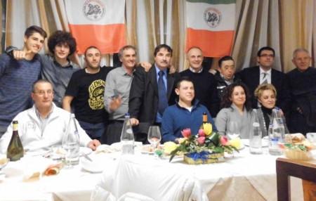Il gruppo del Moto Club Franco Uncini