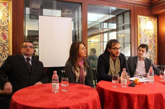 Stefano Spaventa, Barbara Arzilli, Marco Guzzini, Gabriele Mincio
