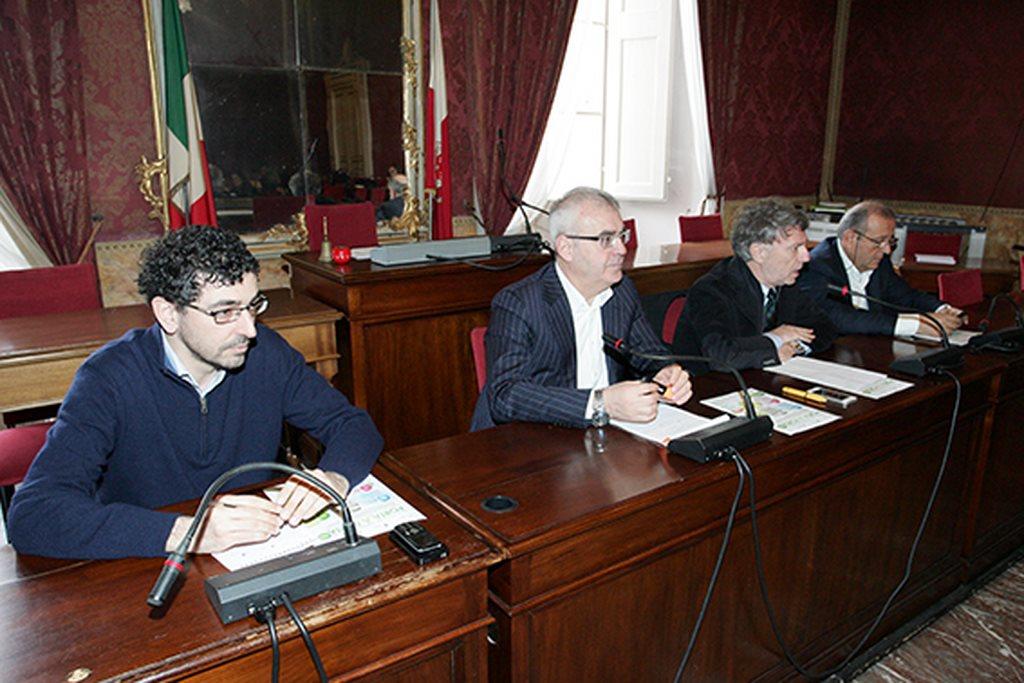 Enzo Valentini, Romano Carancini, Daniele Sparvoli e Giuseppe Giampaoli