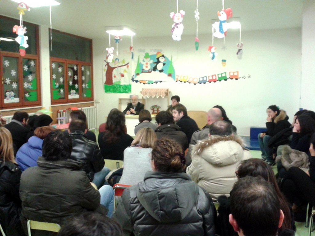 I genitori dei bambini iscritti a L'Ancora hanno partecipato all'incontro