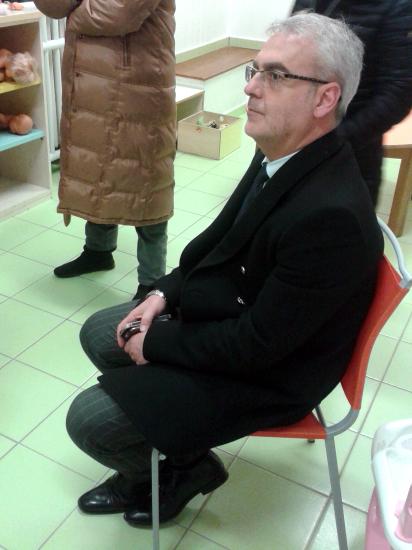 Il sindaco Romano Carancini ha partecipato all'incontro di questo pomeriggio