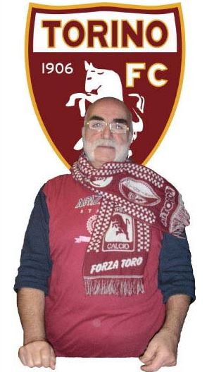 Claudio Cuppoletti era un grande tifoso del Torino (foto da bar.it)