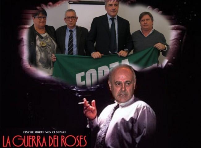forza italia guerra dei roses