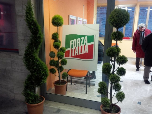 PARTITO DIVISO - Pronta per l'inaugurazione la seconda sede di Forza Italia, in Galleria del Commercio