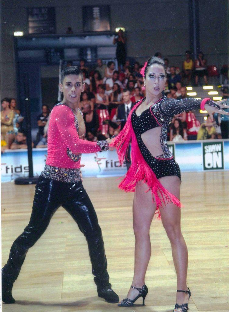 La coppia di ballerini Gatti-Ciminari