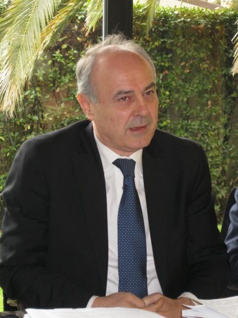 Il senatore Remigio Ceroni, segretario regionale di Forza Italia