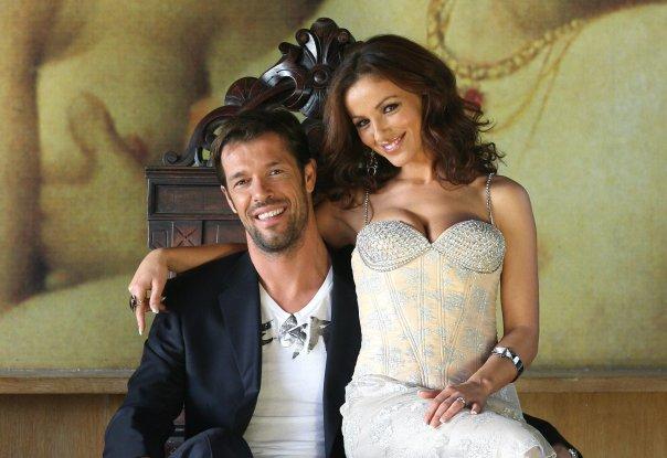 Soli e Renaud Herpe il giorno delle nozze