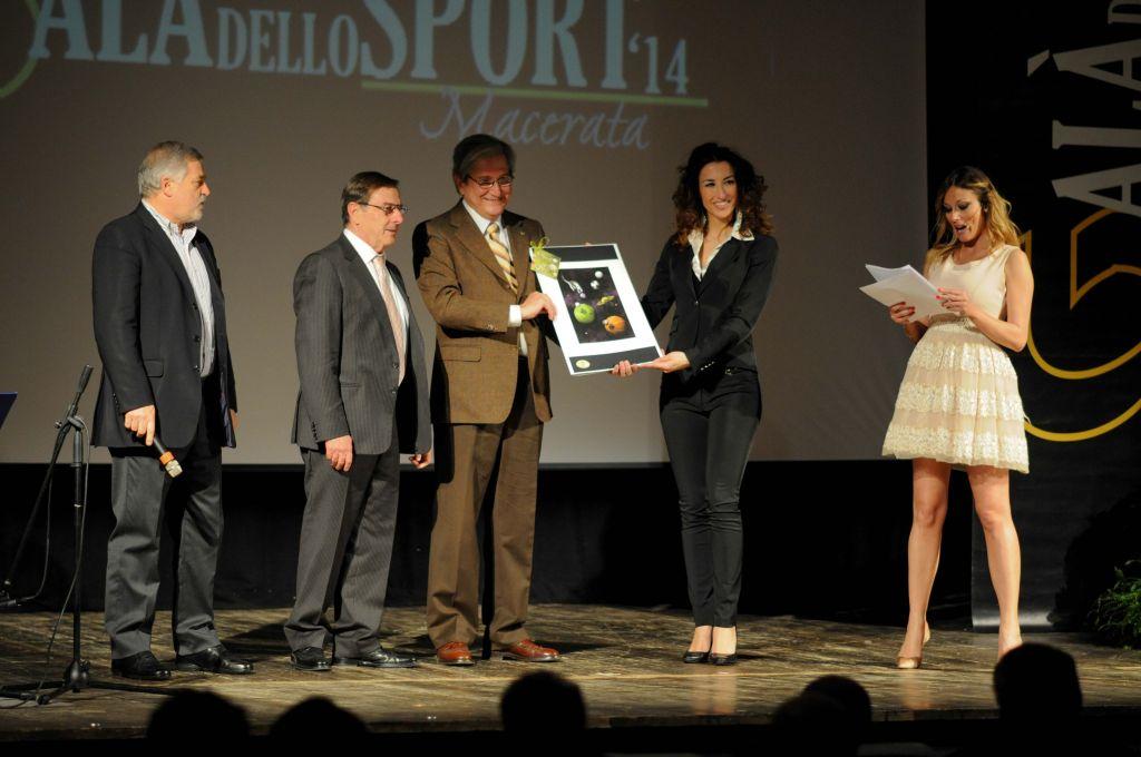 Alferio Canesin premia Sibillini e Dintorni (Miglior Evento Sportivo)