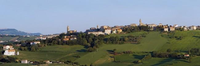 Veduta di Monte San Pietrangeli