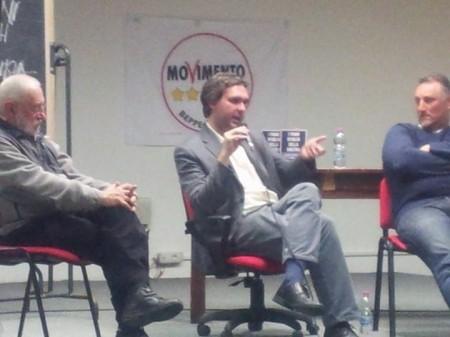 Da sinistra: Umberto Santucci, Stefano Santachiara e Massimo Montali