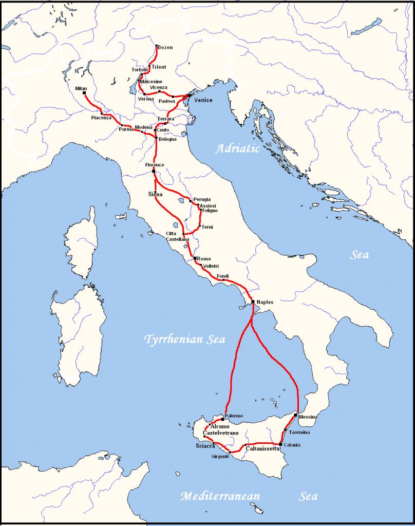 Il viaggio in Italia di Goethe