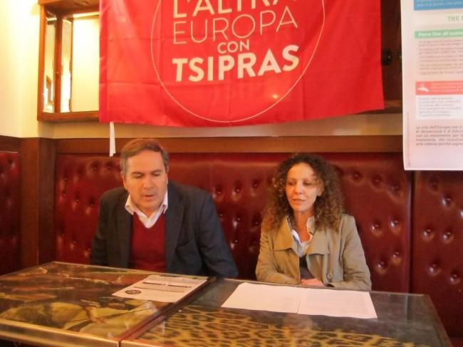 Roberto Mancini e Maria Grazia Baiocco