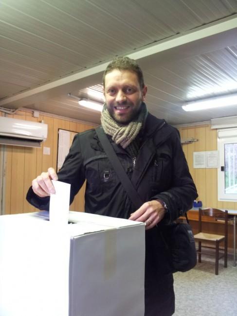 Il candidato sindaco di centrosinistra Fabio Trojani