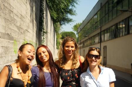 Laurea a Roma con le amiche