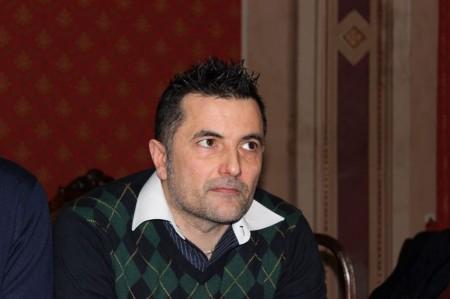 Mauro Riccioni, sindaco di Gagliole