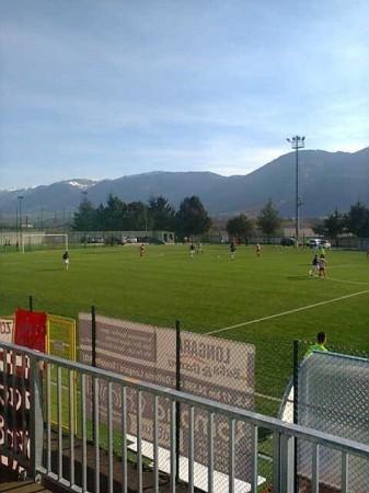 Un momento della partita tra Amiternina e Maceratese (foto di Glauco Giglioni)