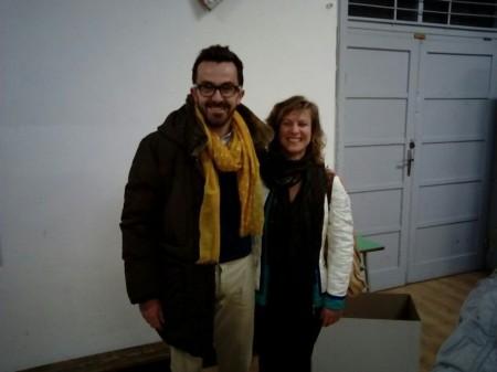 Andrea Gentili e Federica Trifoglio