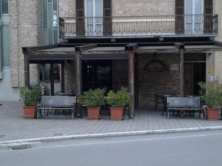 Il bar Centrale di Sarnano