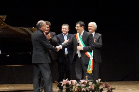 Il conferimento della cittadinanza onoraria a Leo Nucci