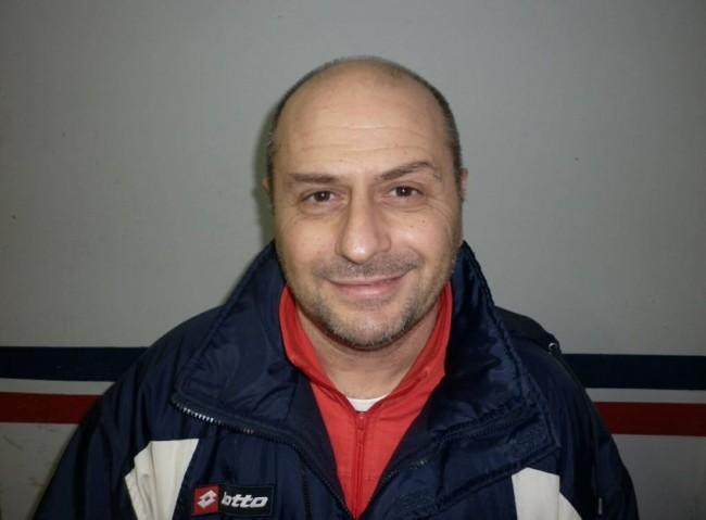 L'allenatore del Montesangiusto Di Clemente