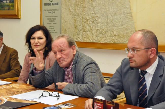 Stefania Monteverde, Pietro Marcolini e Guido Castelli