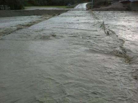 Maltempo: alluvione nel Maceratese